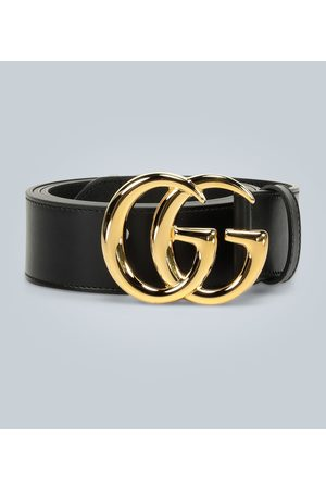 Gucci Dames Riemen - GG Marmont leather belt