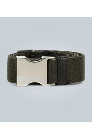 Prada Dames Riemen - Nylon and leather utility belt