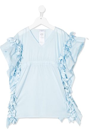 MONNALISA Petal-trimmed blouse