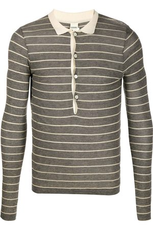 Gianfranco Ferré 1990s knitted long-sleeved polo shirt