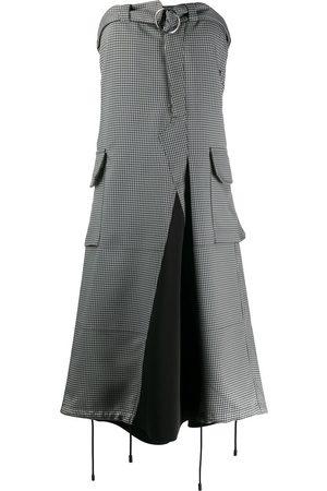 Maison Margiela Deconstructed trouser-style strapless dress