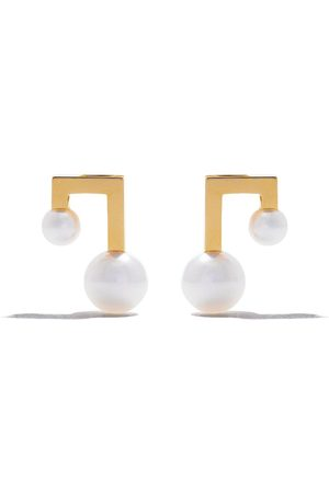 Tasaki Balance note earrings