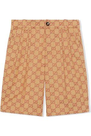 Gucci GG two-tone shorts