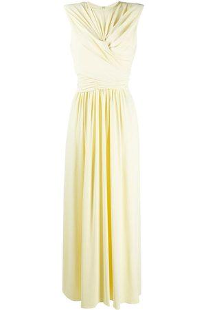 Isabel Marant Twisted-waist gathered A-line dress