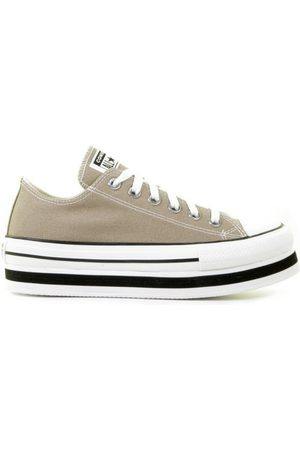 Converse Everyday Platform Chuck Taylor All Star Low Top Khaki/White/Black
