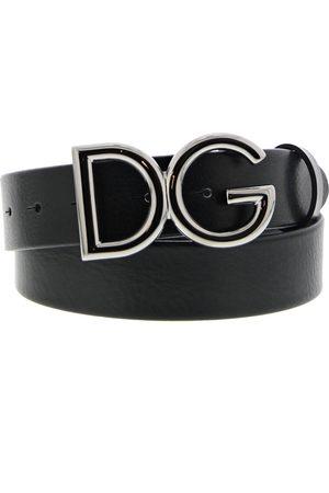 Dolce & Gabbana RIEM ZWART LOGO