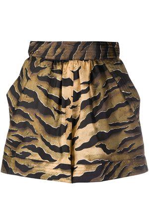 Dsquared2 Tiger stripe shorts