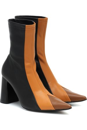 Ellery Helga leather ankle boots