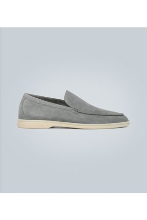 Loro Piana Heren Loafers - Summer Walk suede moccasins