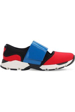 Marni Meisjes Sneakers - Leather & Neoprene Strap Sneakers