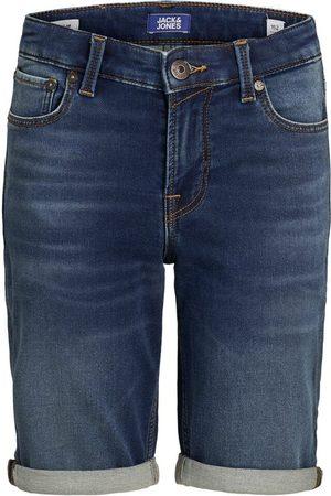 Jack & Jones Heren Shorts - Jongens Indigo Knit Denim Short Heren Blauw