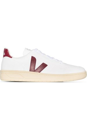 Veja V-10 butter sole leather sneakers