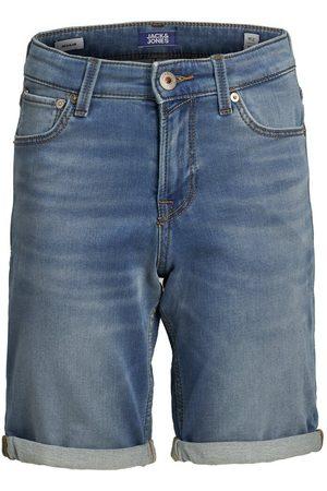 JACK & JONES Heren Shorts - Jongens Indigo Knit Denim Short Heren