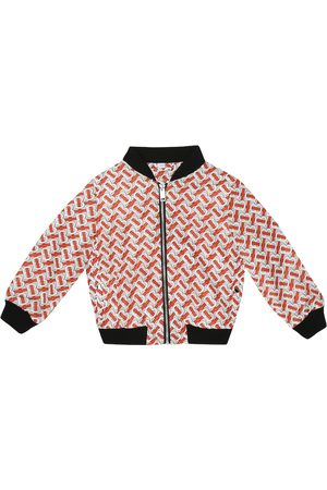 Burberry Monogram bomber jacket