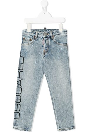 Dsquared2 Printed logo jeans