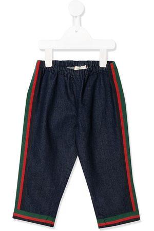 Gucci Side stripe jeans