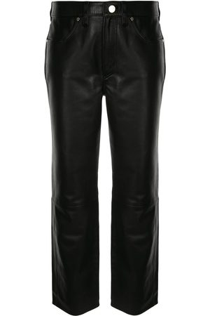 Goldsign Straight-leg cropped trousers
