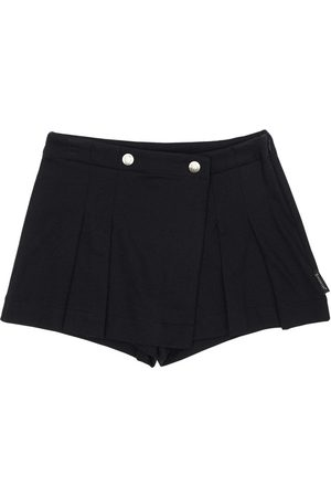 Moncler Cotton Piquet Shorts
