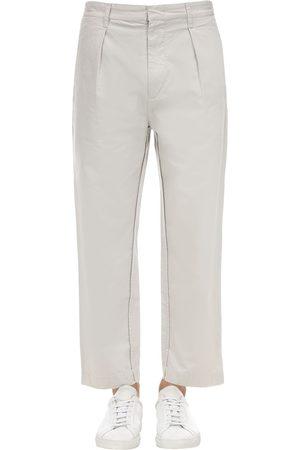 Isabel Marant Heren Broeken - Pleated Light Cotton Pants