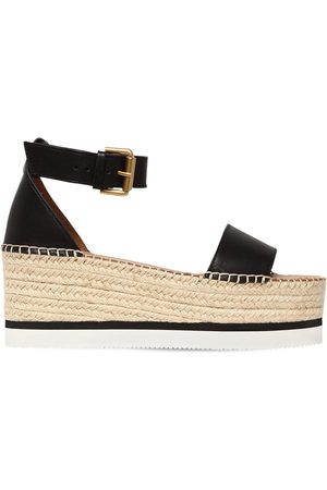 See by Chloé 80mm Glynn Leather Wedges