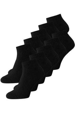 Jack & Jones 10-pack Enkel Sokken Heren Zwart
