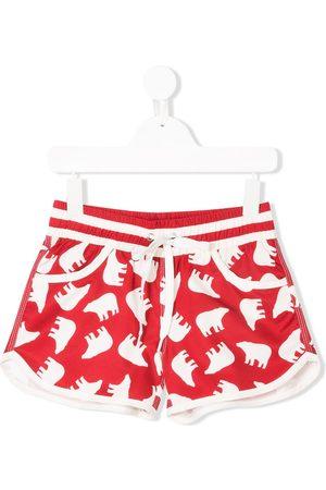 Perfect Moment Bear print resort shorts