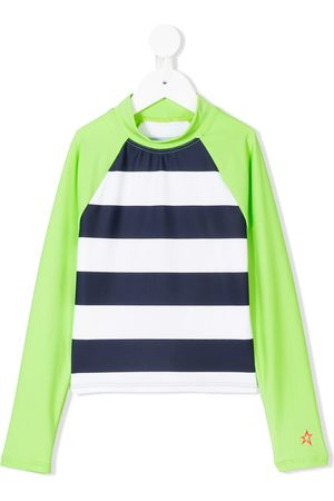 Perfect Moment Striped rash guard