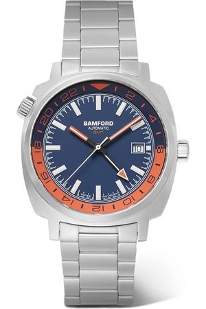 Bamford Watch Department Heren Horloges - Gmt Automatic 40mm Stainless Steel Watch