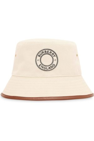 Burberry Logo print bucket hat