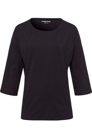 Green Cotton Dames Lange mouw - Shirt van 100% katoen 3/4-mouwen