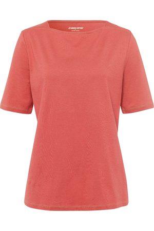 Green Cotton T-shirt van 100% katoen boothals