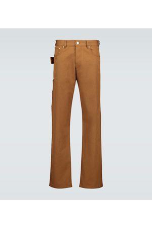 Bottega Veneta Cotton straight-leg pants
