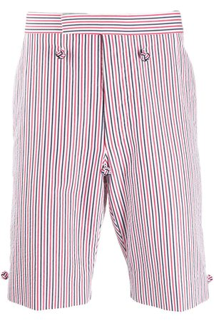 Thom Browne Backstrap striped shorts