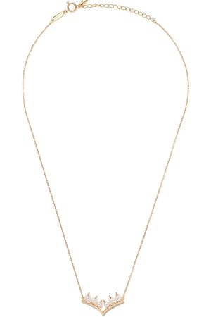 Tasaki 18kt yellow gold Collection Line Danger Akoya pearl necklace