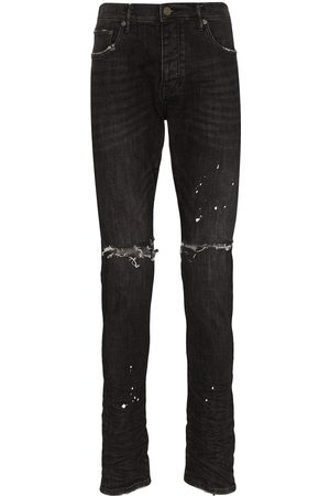 Purple Brand Distressed ripped knee jeans