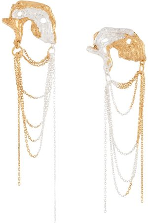 Lee Orion chain-drop earrings