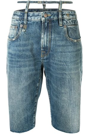 R13 Ollie knee-length shorts