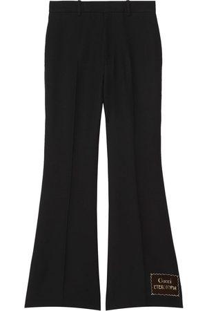Gucci Eterotopia flared trousers