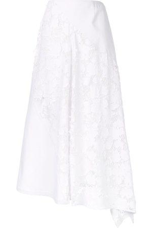 GOEN.J Asymmetric panelled skirt