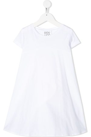 DOUUOD KIDS Short-sleeve flared dress