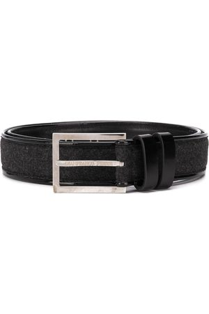 Gianfranco Ferré 1990s woven panel belt