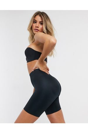 Spanx Shorts - Suit Your Fancy Butt Enhancer shaping shorts in black