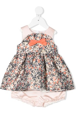 HUCKLEBONES LONDON Ruffled bodice dress & bloomers