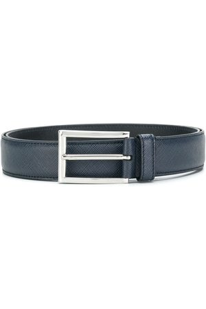 Prada Saffiano classic buckle belt