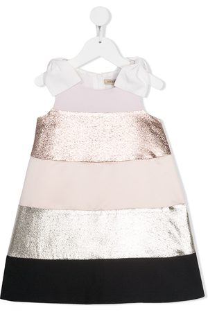 HUCKLEBONES LONDON Rainbow trapeze dress