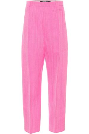 Jacquemus Le pantalon Santon high-rise pants
