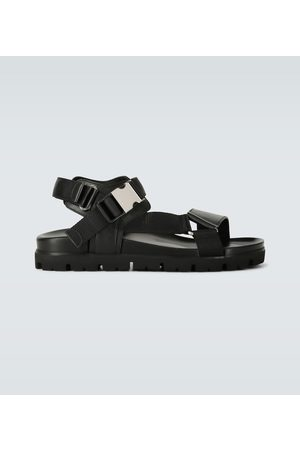 Prada Leather strapped sandals