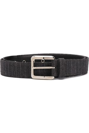 Gianfranco Ferré 1990 crocodile-effect buckle belt