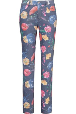 Brax Dames Slim - Slim Fit-jeans model Mary bloemenprint Feel Good multicolour