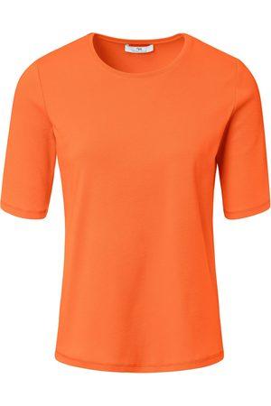 Peter Hahn Shirt van 100% Pima Cotton ronde hals